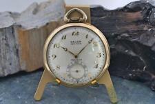 Gruen Veri-Thin 17j Gold-Filled Open-Face Pocket Watch *Running*