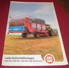 prospekt falt blatt mengele lade automatikwagen LAW 325  reklame werbung 70er