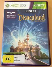 DISNEYLAND ADVENTURES + 1 MTH XBOX LIVE GOLD - XBOX 360 - AS NEW - NEVER USED