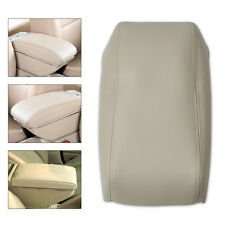 For 1998-2001 2002 Honda Accord New Leather Console Lid Armrest Cover-Beige
