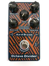 New Aural Dream Octave Divider Digital Guitar Effect Pedal
