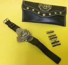 Motor Bike Boy Watch Hard Rider with Pouch Case