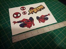 Spiderman Sticker Set
