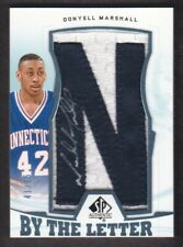 2013-14 SP Authentic By the Letter Autograph #BL-MA Donyell Marshall 41/75 Auto