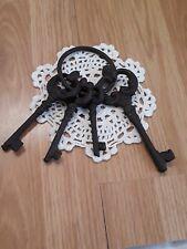 Deco Large Skeleton keys (CAST IRON)