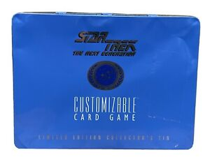 Star Trek: The Next Gen Customizable Card Game Limited Edition Collectors Tin
