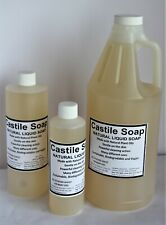 Castile Soap / Unscented Concentrated soap / Gallon Liquid Soap / Hand Soap