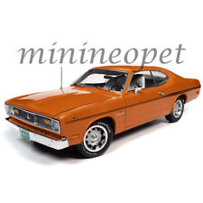 Autoworld Amm1239 1970 Plymouth Duster 340 Coupe 1/18 Diecast Orange