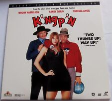 LASERDISC - NTSC - KINGPIN - with Woody Harrelson, Randy Quaid, Vanessa Angel