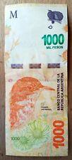 Billet de banque  USED  TB XF  Argentine 1000 Pesos   , plis , fold AR40