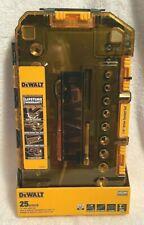 DEWALT DWMT73805 25 Piece 1/4 Inch DRIVE SOCKET SET SAE Metric