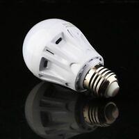 5W E27 LED PIR Motion Sensor Detection Lamp Warm/White Bulb Outdoor Night Light