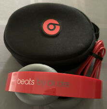 Beats By Dre Solo Hd Special Edition Red Headphones Wired Headset