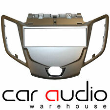 Ford Fiesta MK7 2008 Onward Single Din Car Stereo Silver Fascia Panel