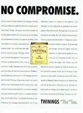 Publicité Advertising 087  1992  le Thé  earl grey Twinings