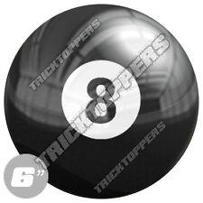 "1 Premium - 6""- 3M Decal Sticker For Car Truck SUV Window Bumper - 8 POOL BALL"
