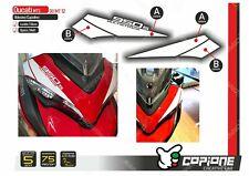 Adhesive Stickers Compatible DUCATI Multistrada 950 S 950s Tapered MT12