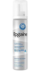 (FRESH) Rogaine Foam Hair Loss & Regrowth Treatment 5% Minoxidil - 1 Month
