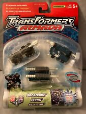 Transformers Armada 3-pack minis - BROADSIDE, FETCH, & SCATTOR