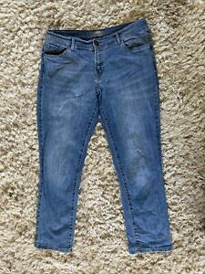 Dorothy Perkins Skinny Blue Jeans Faded Size 10