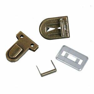 Key Lock Folder Lock 0 31/32in Wide, Bronze Coloured, 1 Set (4teilig)