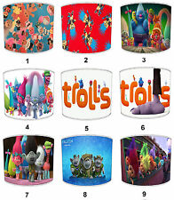 Trolls Lampshades Ideal To Match Trolls Duvet Trolls Cushions & Troll Wall Decal