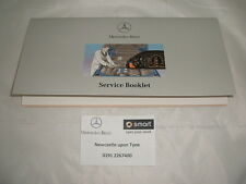 Genuine Mercedes-Benz Duplicate Service Book A2085840193