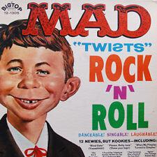 """MAD MAGAZINE """"Mad Twists Rock 'n' Roll"""" vinyl LP '60s Parody"""