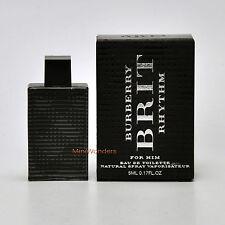 Mini Perfume BURBERRY BRIT RHYTHM for MEN  Eau de Toilette 5 Ml 0.17 Oz Mini