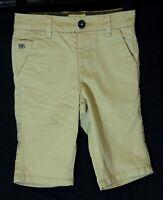 Boys Jasper Conran Beige Chino Denim Adjustable Waist Smart Shorts Age 4 Years