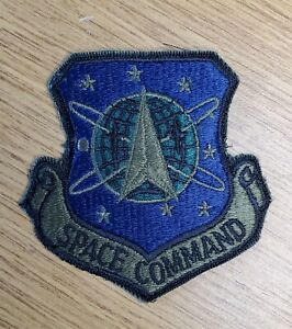 Stargate SG-1  Space Command Shield Camo Vintage Patch 3 inches wide