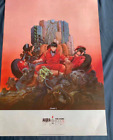 AKIRA Movie Katsuhiro Otomo Poster A1 33.39 In x 33 In Movie Poster From Japan