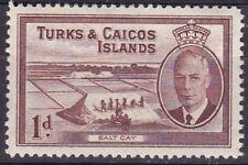 Turks and Caicos George VI Era (1936-1952) Stamps