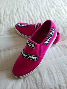 Juicy couture trainers sneakers size 7 hot pink brand new