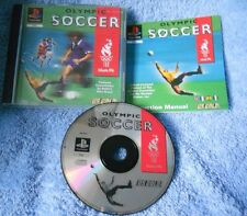 Olympic Soccer Us Gold Ps1 Ottima 1a Stampa Euro con manuale in italiano