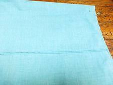MARTHA Stewart FLAT Twin SHEET Green MADE in USA Cotton BLEND