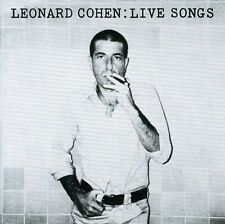 Leonard Cohen - Live Songs [New CD] Germany - Import