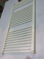 Quinn QRK6 Flat White Towel Warmer Rail  1160mm x 600mm Plumb In Type 643 Watts