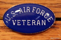 Quality U.S. Air Force Veteran Lapel Pin Hat Pin tack Military Service Tie Tac
