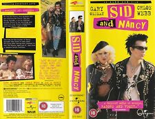 SID AND NANCY VHS PAL GARY OLDMAN,CHLOE WEBB,DIRECTED BY ALEX COX NEW 80'S