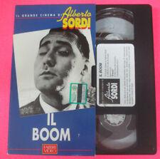 VHS film IL BOOM Vittorio De Sica Il grande cinema di ALBERTO SORDI (F107)no dvd