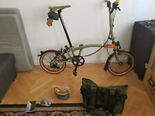 Brompton explore limited editions H6L with bag and accessories new