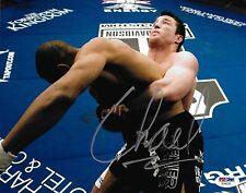 Chael Sonnen Signed UFC 8x10 Photo PSA/DNA COA WEC 12 31 33 36 Picture Autograph