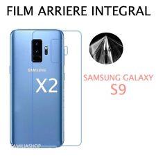 Lot 2 Films Protection arrière Entier Pour Écran Incurvé Samsung Galaxy S9