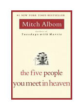 The Five People You Meet in Heaven, Albom, Mitch, 0786868716, Book, Good