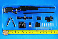 US Special Force Navy Seals MK13 MOD 5 Sniper Rifle 1:6 Figure Model G_8034B