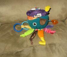 "8"" LAMAZE Octopus Pirate Teether Rattle Crinkle Plush"