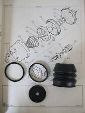 FORD Capri Mk1 Mk2 Mk3 Consul Granada Mk1 2.0 & 2.3 BRAKE SERVO REPAIR SEALS KIT