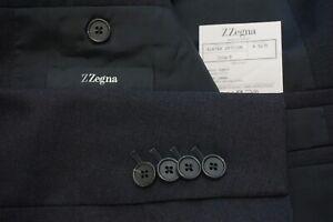 Ermenegildo Zegna Drop 8 Current Wool Gray Sport Coat Jacket Sz 42R
