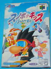 Snobow Kids - Nintendo 64 N64 - JAP Japan